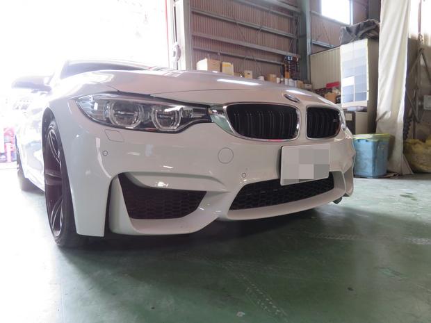 フロントリップスポイラー取付・BMW(CBA-3C30) (1).JPG