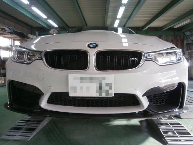 フロントリップスポイラー取付・BMW(CBA-3C30) (4).JPG