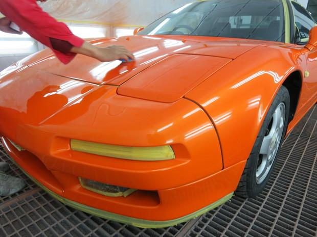 NSX全塗装(NA1)サーマルオレンジパール (155).JPG